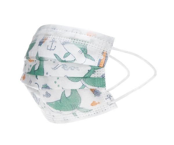Atemschutzmasken für Jungs - 10 Stück - 4-12 Jahre